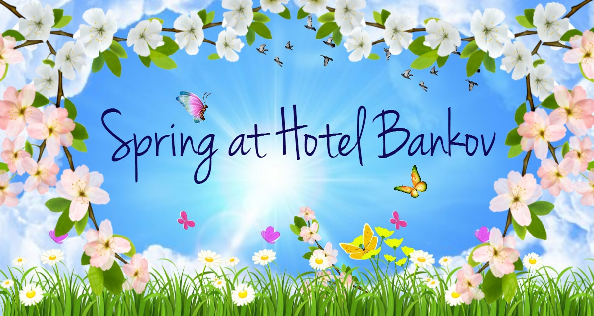 Spring at Hotel Bankov